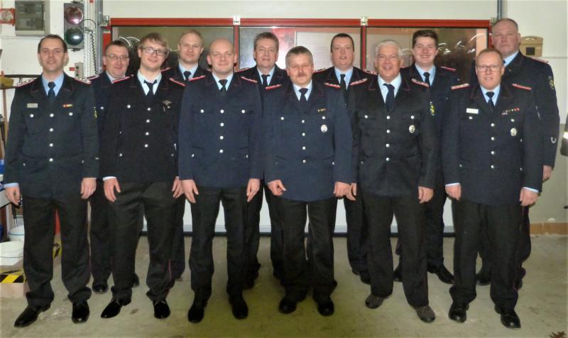 Kommando Feuerwehr Wrescherode